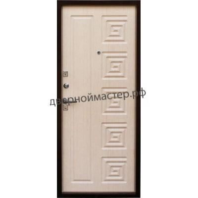 Белые металлические двери 5