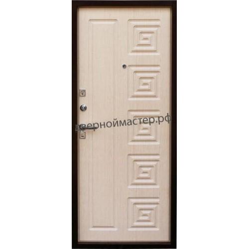 Металлические двери белые