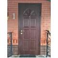 Двери для таунхаусов с авторским дизайном.