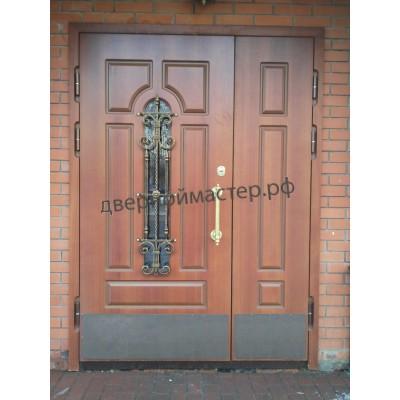 Двери металлические двустворчатые14
