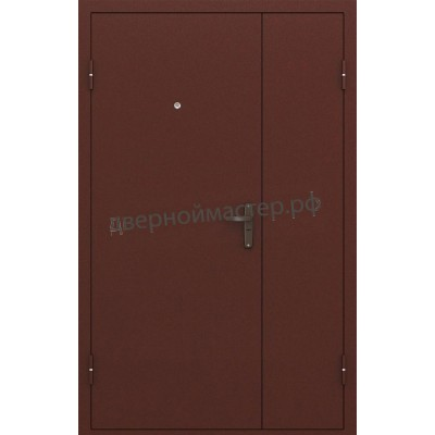 Двери металлические двустворчатые 1