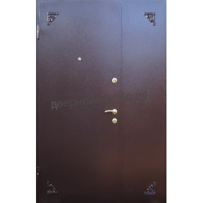 Двери металлические двустворчатые21