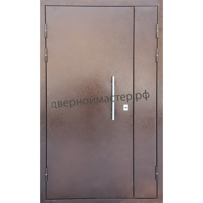 Двери металлические двустворчатые23