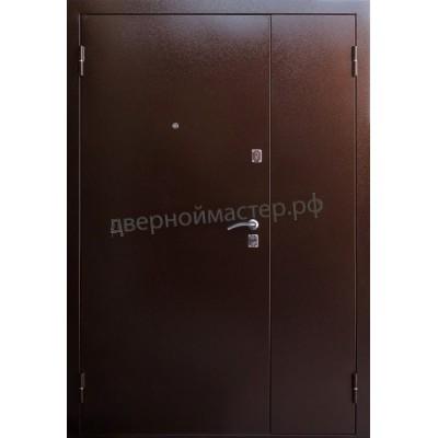 Двери металлические двустворчатые24