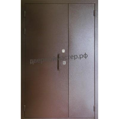 Двери металлические двустворчатые25