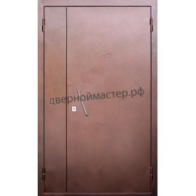 Двери металлические двустворчатые26
