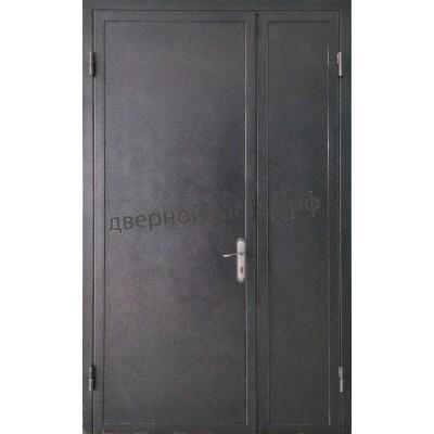 Двойная дверь с напылением для квартиры