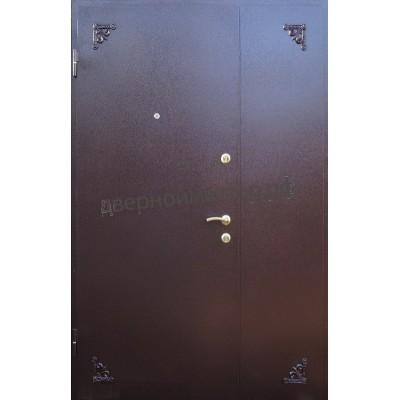 Двойная дверь с напылением 02