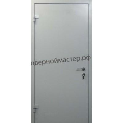 Металлические двери одностворчатые 1