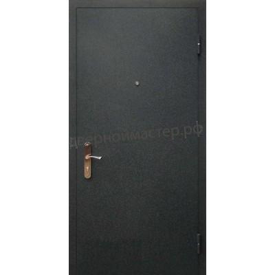 Металлические двери одностворчатые 2