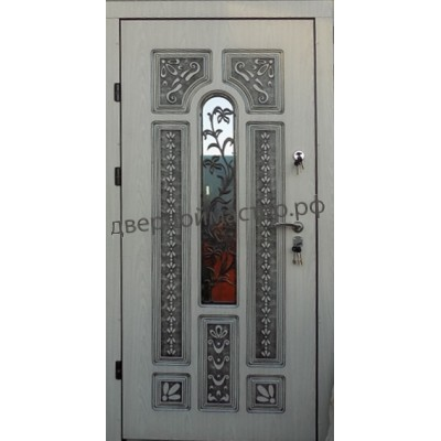 Входные двери в частный дом22