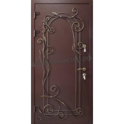 Входные двери в частный дом74