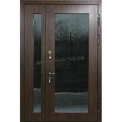 Металлические двери двупольные