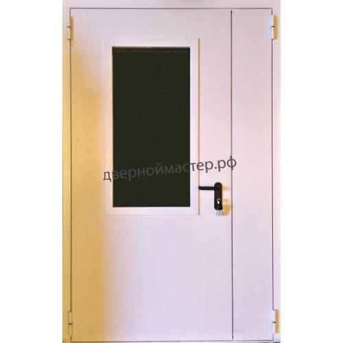 Металлические двери полуторные
