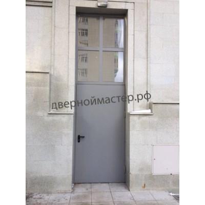 Двери с фрамугой 13