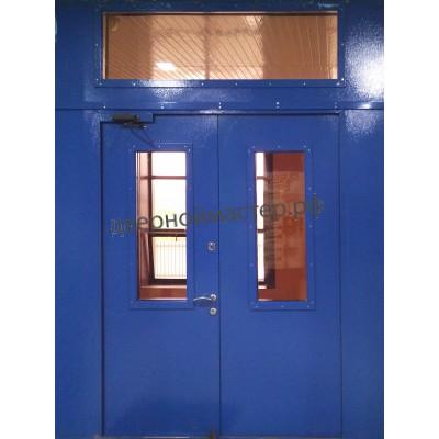 Двери с фрамугой 4