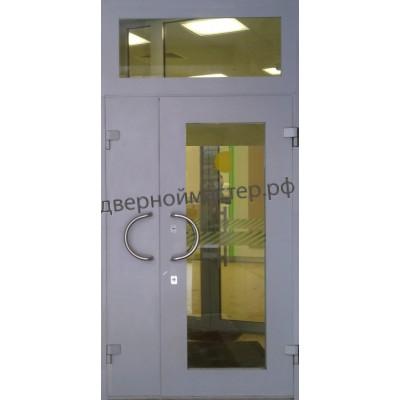 Двери с фрамугой 5