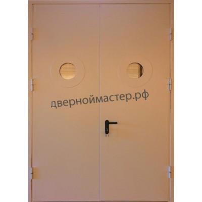 Дверь ДМ-869 с двумя иллюминаторами