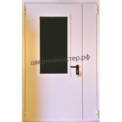 Двери с окном 1