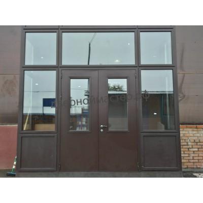 Двери со стеклом 1