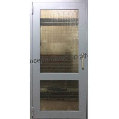 Дверь с армированным стеклом ДМ-00492