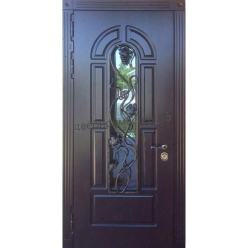 Входные металлические двери для коттеджа