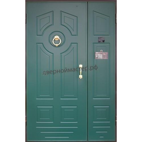 Подъездные двери с МДФ