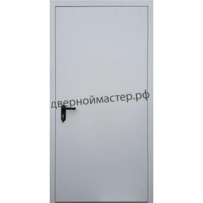 Противопожарная дверь со скрытыми петлями