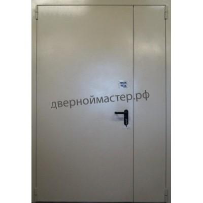 Металлические двери тамбурные с порошковым напылением 1