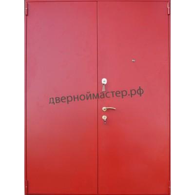 Металлические двери тамбурные с порошковым напылением 2