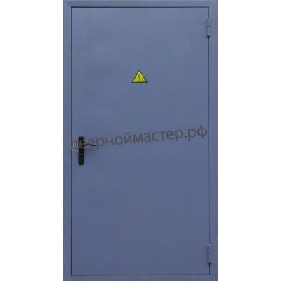 Техническая дверь в электрощитовую