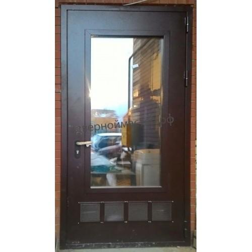 Металлические двери в котельную