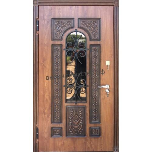 Металлические двери с МДФ 90