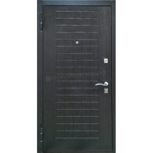Хорошая входная дверь в квартиру с МДФ с утеплением