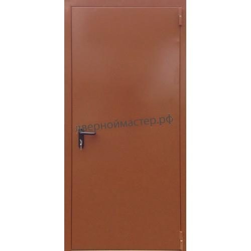 Техническая дверь наружная с антивандальным покрытием
