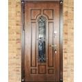 Двери металлические уличные.