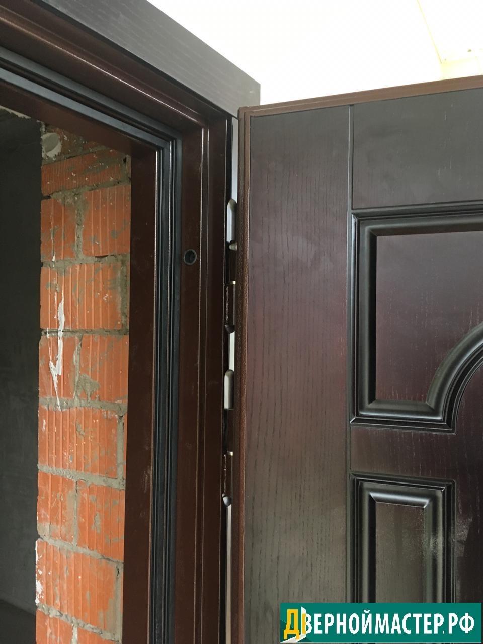 Скурпулезный подход к качеству изготовления дверей металлических входных для частного дома.