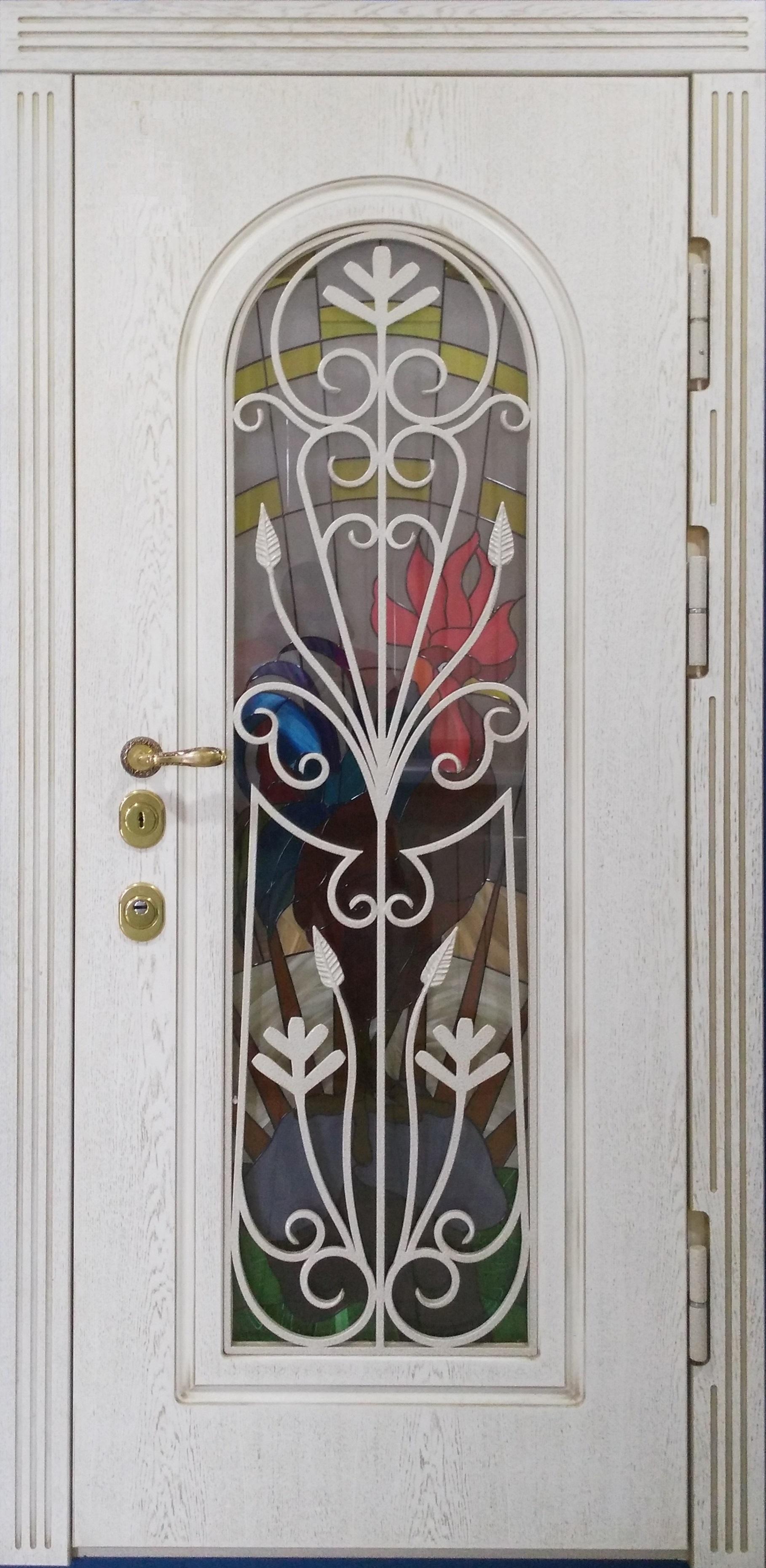 Металлическая дверь для загородного дома
