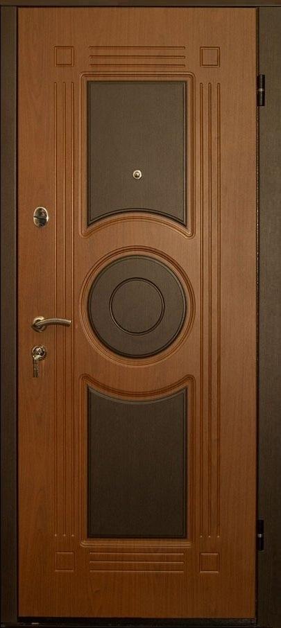 Металлические двери с отделкой МДФ с двух сторон