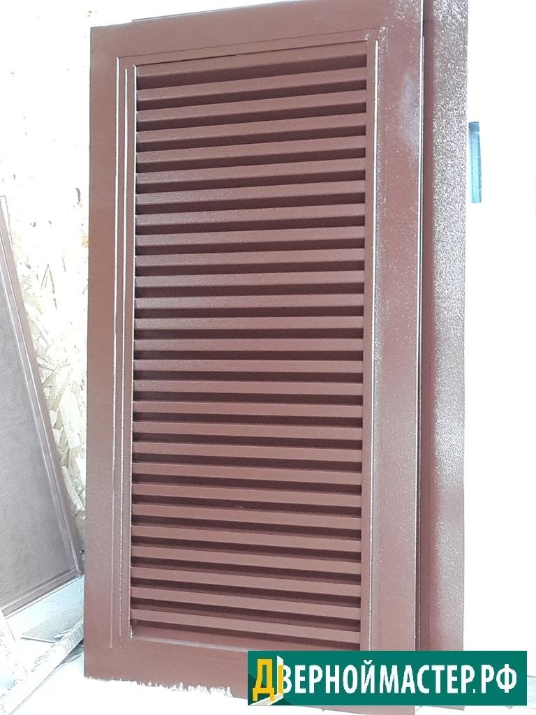 Вертикальные наружные жалюзийные решетки для вентиляционных шахт или вент. каналов.