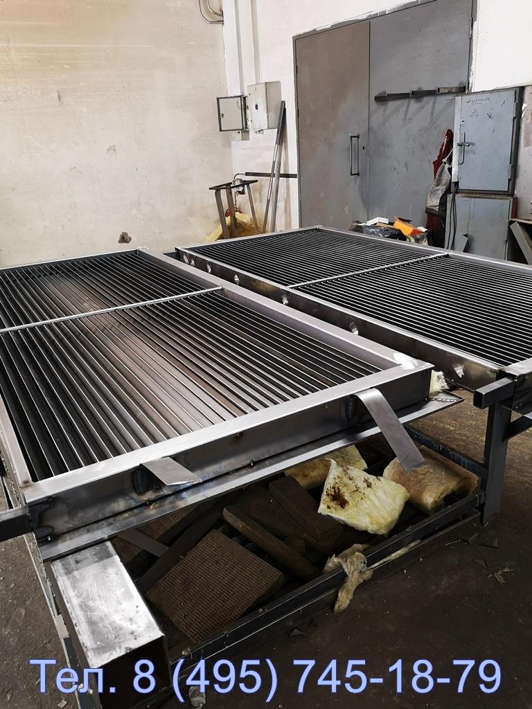 Вот так мы производим вентиляционные наружные решетки арн в Москве