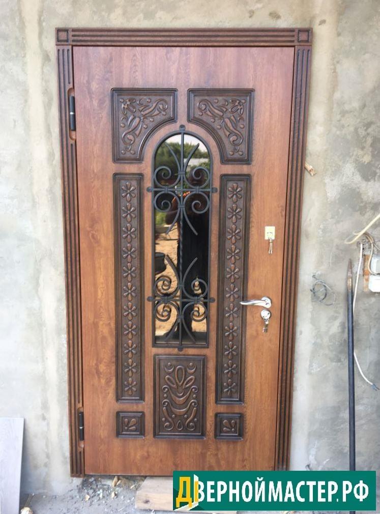 Монтаж металлической двери в коттедж, купить в Москве с установкой