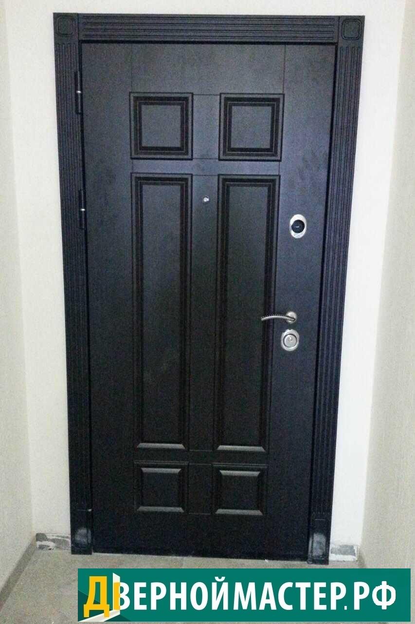 Купить металлическую хорошую дверь железную для квартиры, недорого