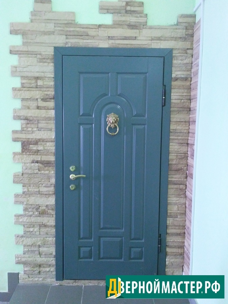 Входные двери в квартиру купить в москве отделанную МДФ панелями