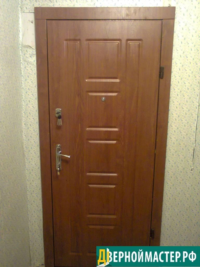 Новинка с хорошей ценой- металлическая дверь в квартиру купить со светлой панелью МДФ