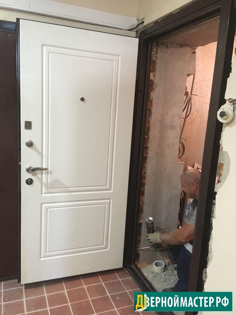 Входные двери для квартир в новостройки Москвы по отличным ценам.