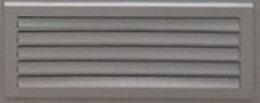 Наружная вент решетка применяемая в двери для электрощитовой