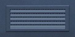 Решетка для вентиляции в двери для котельной накладная