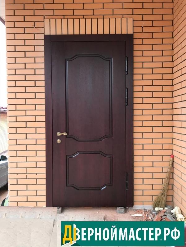 Очередное приобретение- купили входную дверь МДФ для коттеджа