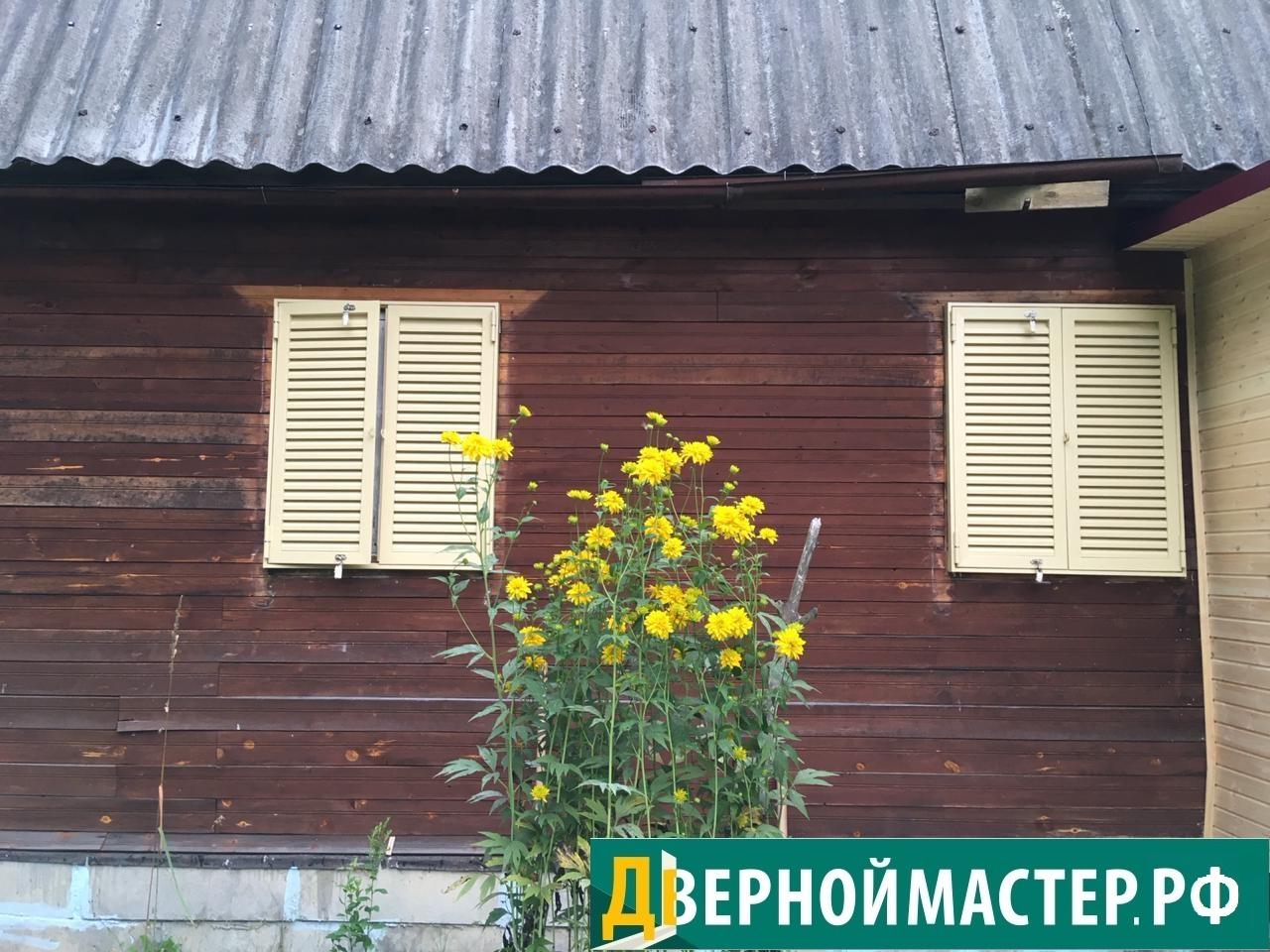 Купить ставни на окна для дачи от компании-производителя Дверной Мастер